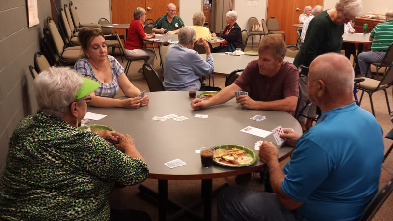 St. Paul Lutheran Church Caledonia Euchre night