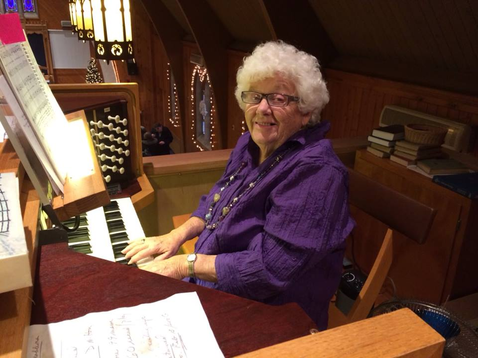 St. Paul Lutheran Church Caledonia Carol Ritz organist