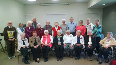 Over 80's at St. Paul Lutheran Church and Preschool, Caledonia, MI